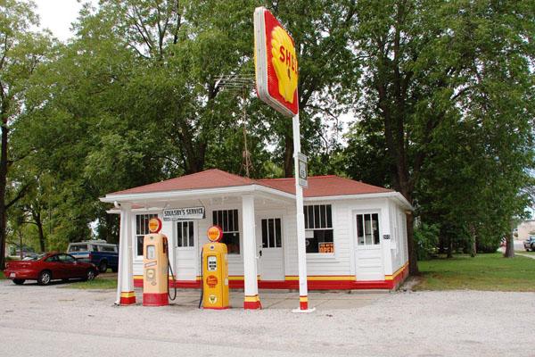 ルート66 ガソリンスタンド