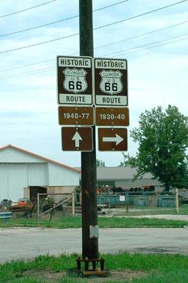 ルート66 サイン