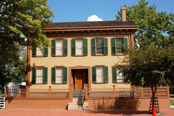 アブラハム・リンカーンが家族と暮らした家