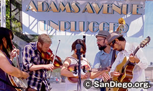アダムス アベニュー アンプラグド Adams Avenue Unplugged