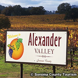 アレキサンダー バレー Alexander Valley