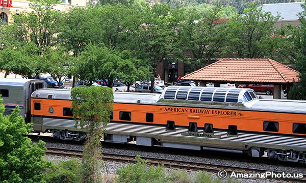 カリフォルニアゼファー号 California Zephyr – Amtrak -