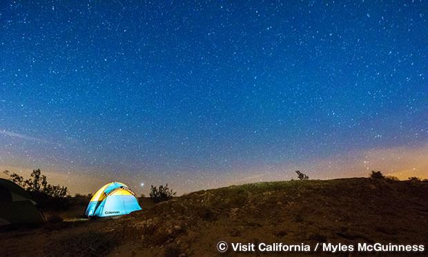 アンザボレゴ砂漠州立公園で天体鑑賞