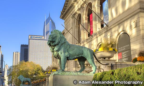 シカゴ美術館 アメリカ三大美術館のひとつ
