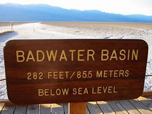 バッドウォーター Badwater Basin