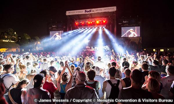 ビール ストリート ミュージック フェスティバル Beale Street Music Festival