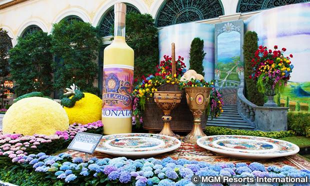 ベラッジオ温室&植物園 Bellagio Conservatory & Botanical Garden