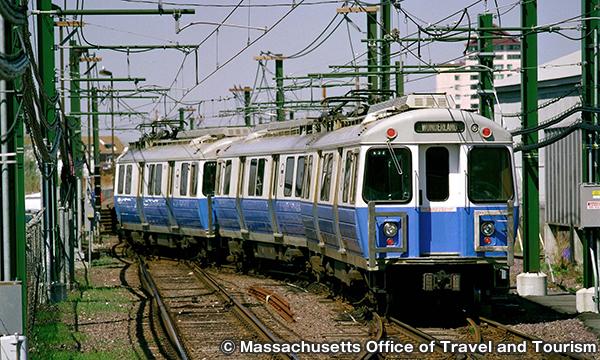 ボストンの地下鉄 Subway