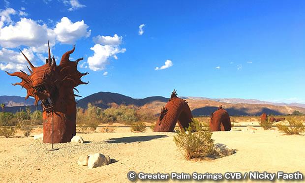 ボレゴ・スプリングスのスカイアート彫刻 The Sky Art Sculptures of Borrego Springs