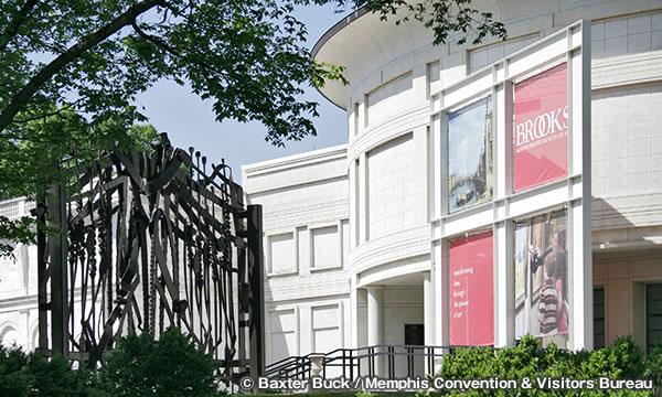 メンフィス ブルックス美術館 Memphis Brooks Museum of Art