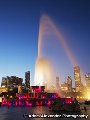 バッキンガム噴水 Buckingham Fountain