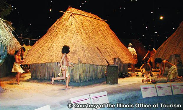 カホキアマウンズ州立史跡解釈センター