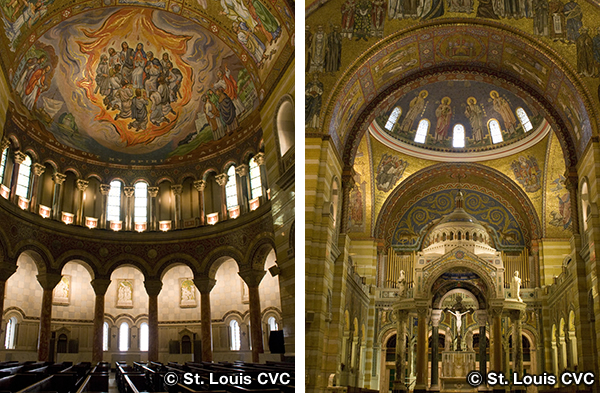 セントルイス大聖堂 Cathedral Basilica of St. Louis