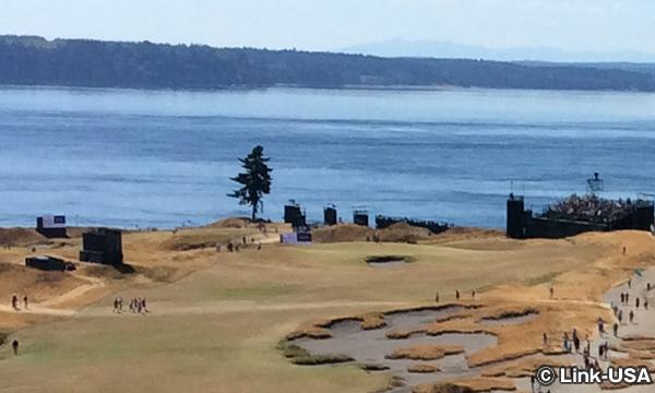 チェンバーズ・ベイ・ゴルフコース Chambers Bay Golf Course