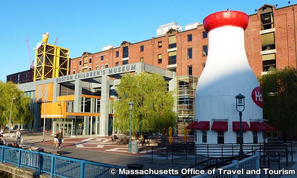 ボストン・チルドレンズ・ミュージアム Boston Children's Museum