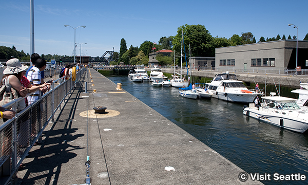 チッテンデン水門 Hiram M. Chittenden Locks