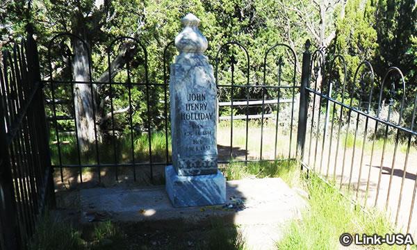 ドク・ホリデイ グレイブ トレイル Doc Holliday's Grave Trail