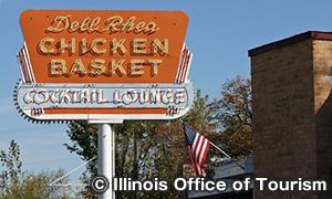デル・リアズ・チキン・バスケット Dell Rhea's Chicken Basket
