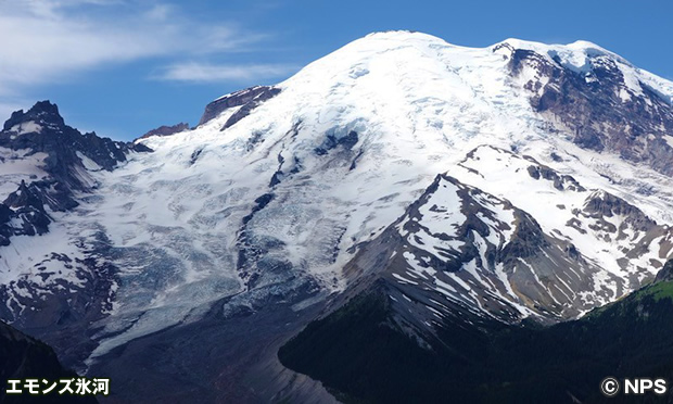 エモンズ氷河 Emmons Glacier
