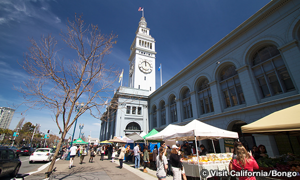 フェリービルディング・マーケットプレイス Ferry Building Marketplace