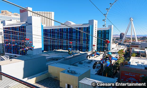 フライ LINQ ジップライン FLY LINQ Zipline Las Vegas