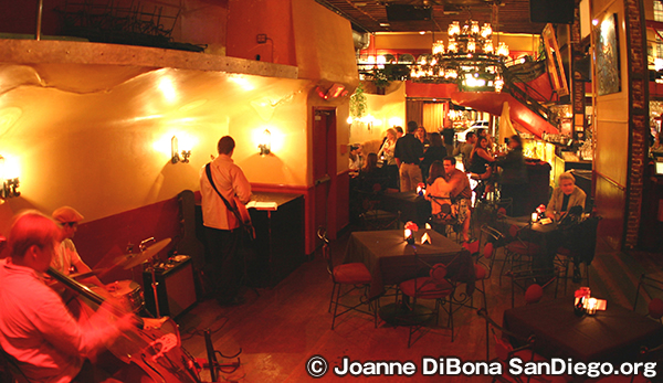 Downtown Gaslamp Jazz Bar Scene