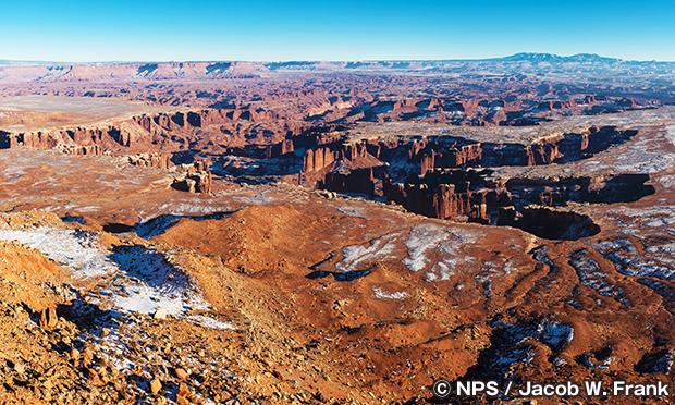 キャニオンランズ国立公園 Canyonlands NP