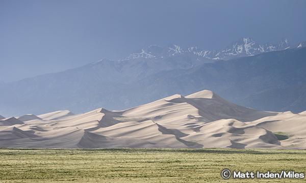 グレートサンドデューンズ国立公園 Great Sand Dunes National Park and Preserve