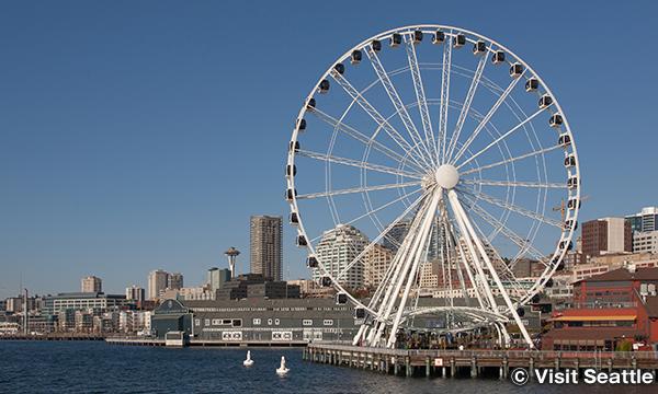 シアトル・グレート・ウィール The Seattle Great Wheel
