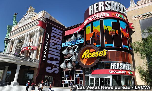 ハーシーズ チョコレート ワールド Hershey's Chocolate World Las Vegas