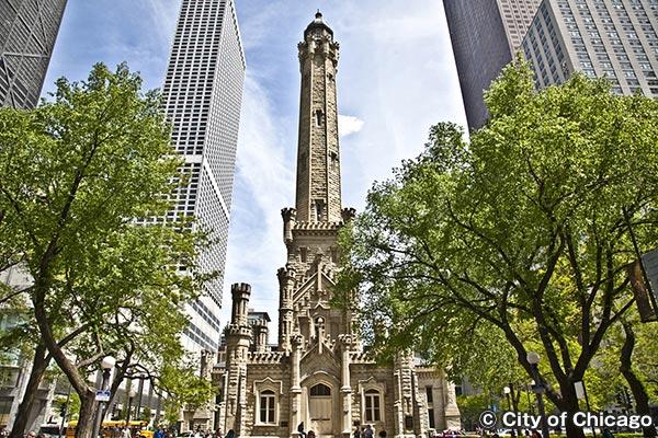 シカゴ・ウォーター・タワー Chicago Water Tower
