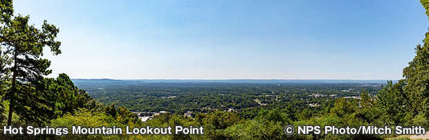 Hot Springs Mountain Lookout Point