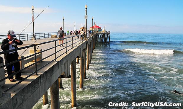ハンティントンビーチ ピア Huntington Beach Pier