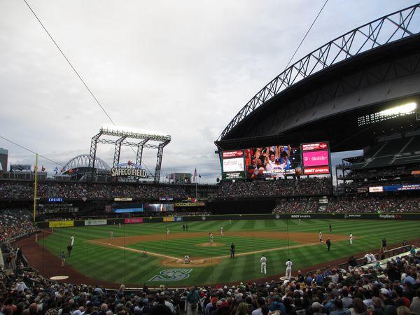 US-OPEN観戦とシアトル観光 – マリナーズの本拠地セーフコ・フィールド -