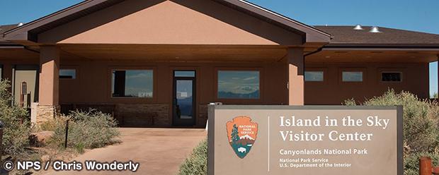 アイランド・イン・ザ・スカイ・ビジターセンター Island in the Sky Visitor Center