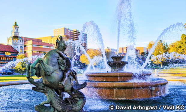 J.C. ニコルズ・メモリアル・ファウンテン J.C. Nichols Memorial Fountain