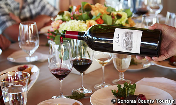 ジョーダン ヴィンヤード & ワイナリー Jordan Vineyard & Winery