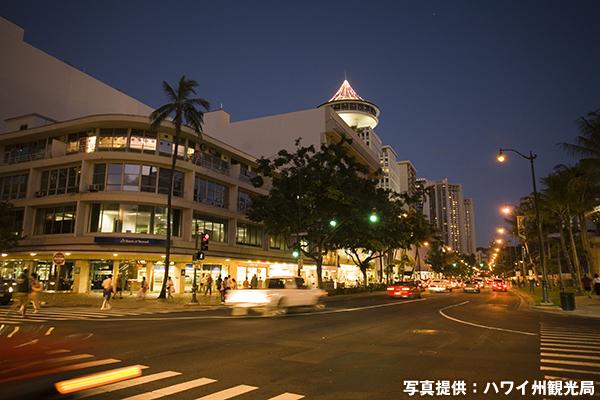 カラカウア通り Kalakaua Avenue
