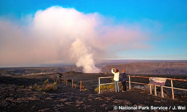 ハワイ火山国立公園 Hawaii Volcanoes National Park