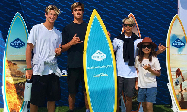 カリフォルニア・ドリームキッズのサーフィンレポート