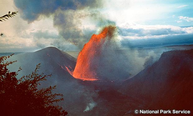 1959年の噴火