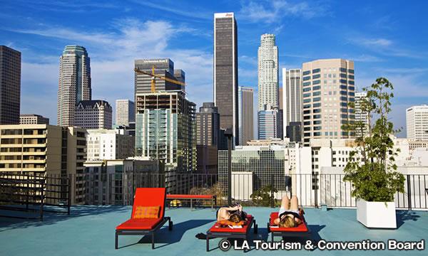 ロサンゼルスのダウンタウン