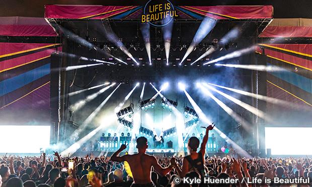 ライフ・イズ・ビューティフル・フェスティバル LIFE IS BEAUTIFUL Music & Art Festival