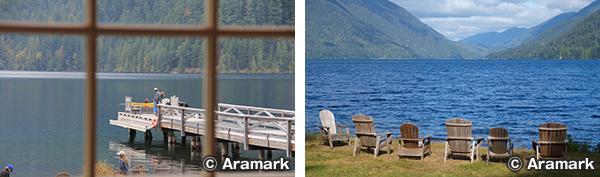 >レイク クレセント ロッジ Lake Crescent Lodge