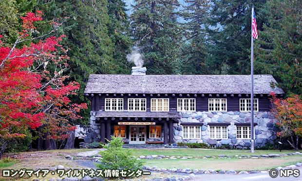 ロングマイア・ワイルドネス情報センター Longmire Wilderness Information Center