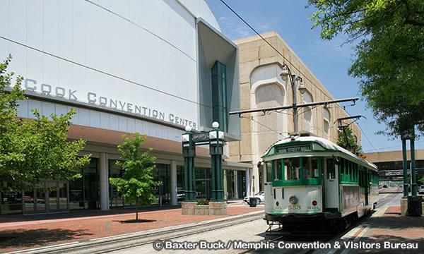 メンフィス クック コンベンション センター Memphis Cook Convention Center