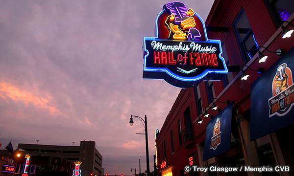 メンフィス音楽大殿堂博物館 Memphis Music Hall of Fame