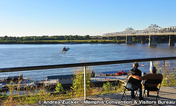 メタルミュージアム ミシシッピ川を見下ろす展望台