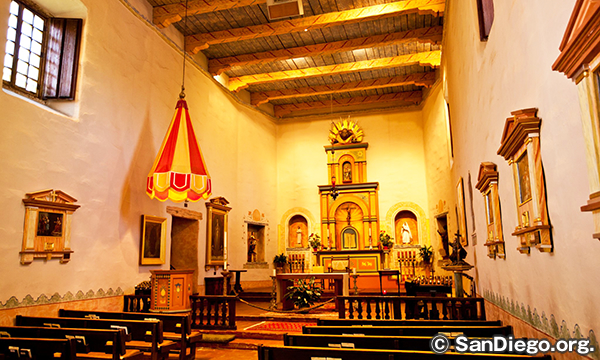 ミッション・バシリカ・サンディエゴ・デ・アルカラ Mission Basilica San Diego de Alcalá