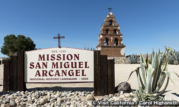 ミッション サンミゲル アルカンジェル Mission San Miguel Arcangel